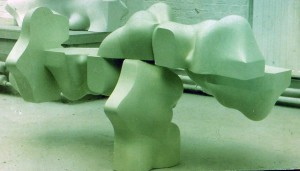 'Chelsea Green' 1969 Resin & Fibre Glass  3m x 2m x 1m