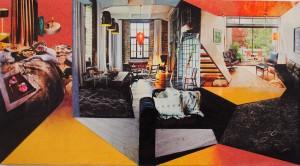 Cubist Condo 2014  - 96cms X 53cms