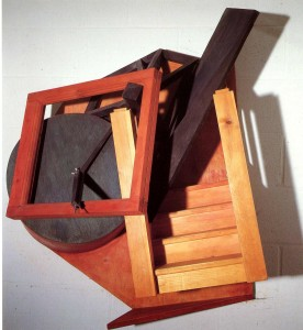 'spiders Stairway' 1988 Wood & Metal 1m x 1m x 1m