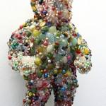 'Beaded Doll' 2009 1m x 0.5m x 0.5m